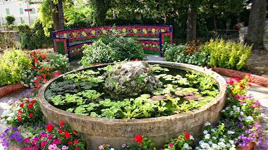El jardín de La Fontana Rosa en Menton