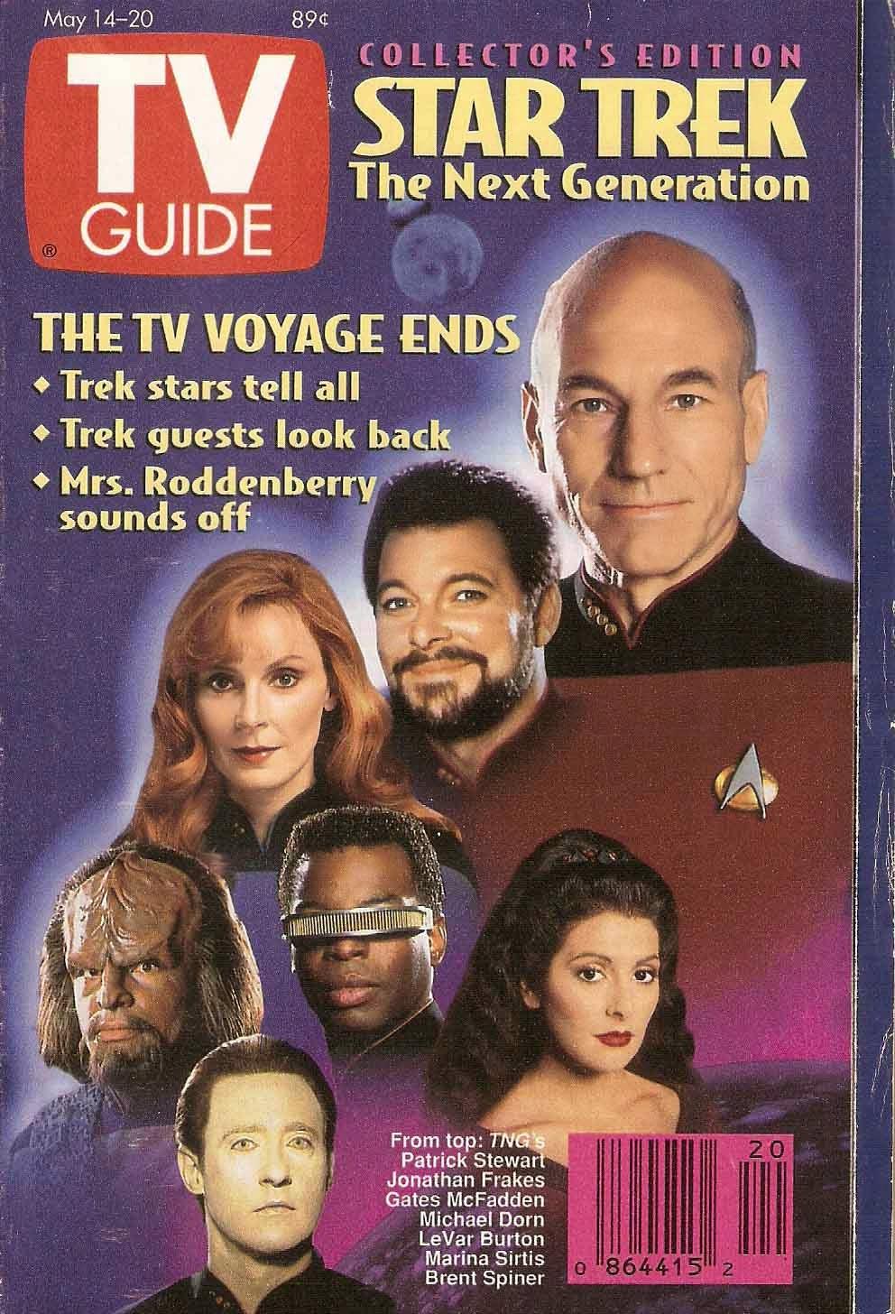 The Next Gigi Hadid Lisa Rinna S Teen Daughter Delilah: J.S. Brooks Presents: Star Trek TV Guide Souvenirs From