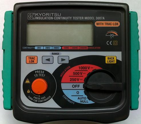 Mengenal Insulation Continuity Tester Megger Hipot Tester