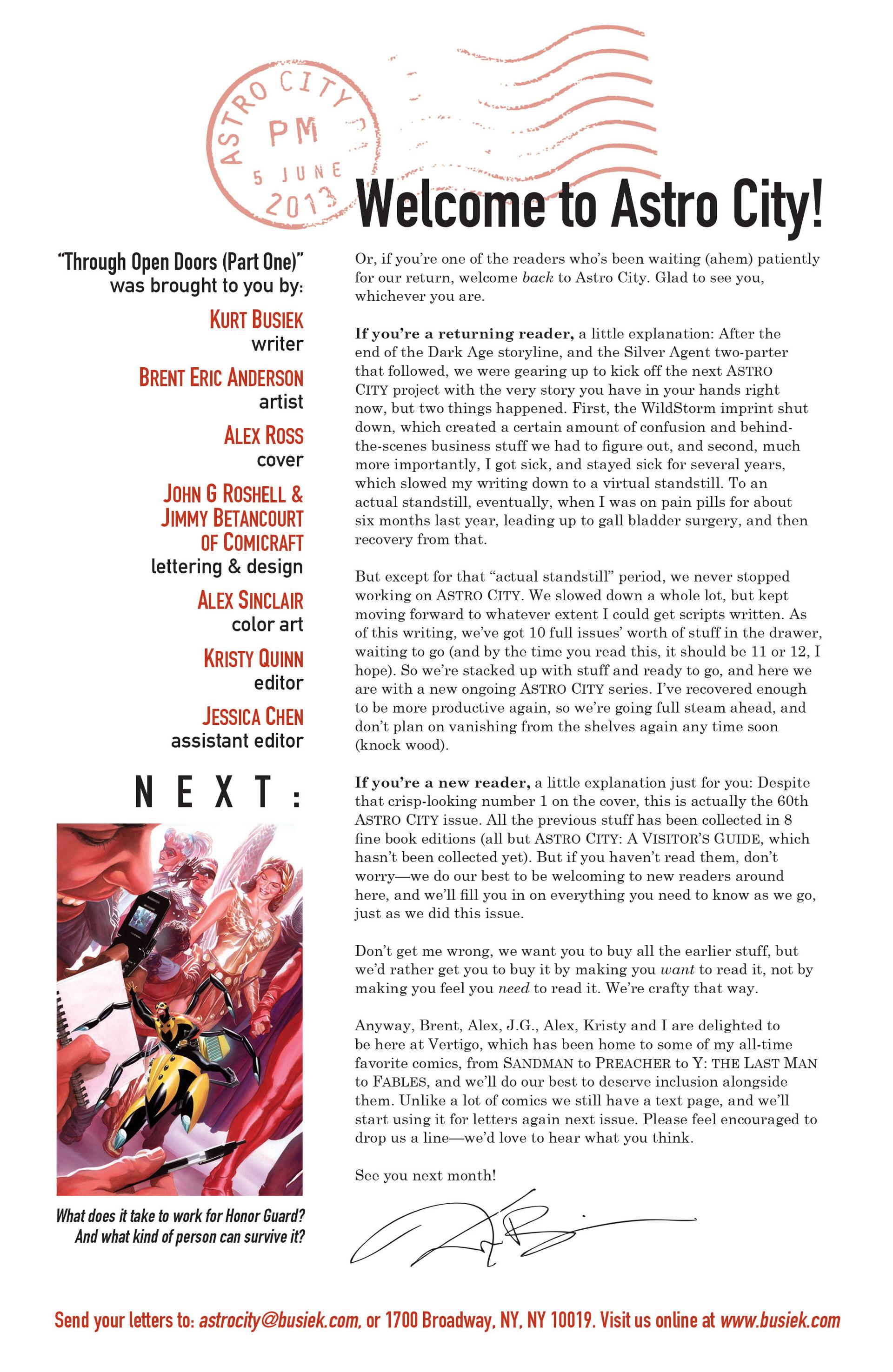 Read online Astro City comic -  Issue #1 - 25