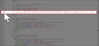 Repérer et développer les balises b:widget du gadget Blog