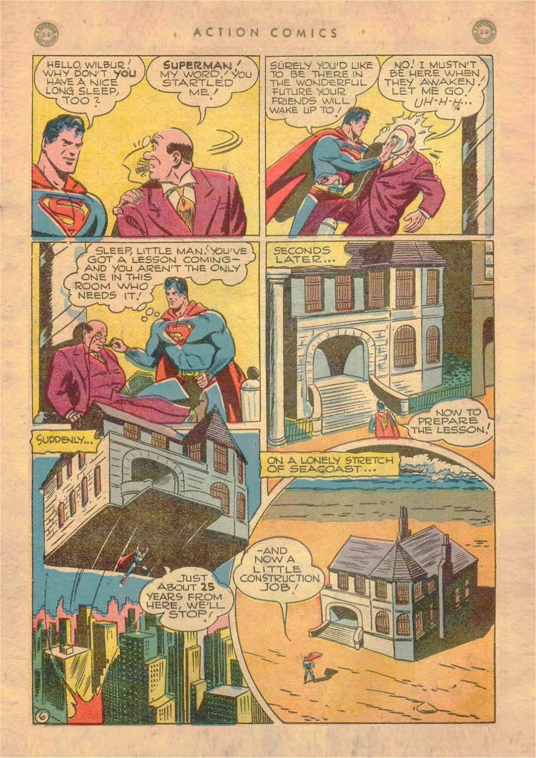 Read online Action Comics (1938) comic -  Issue #107 - 7
