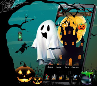 Scary Night Halloween Theme 1.1.3 for Android Premium APK