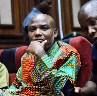 The Pro-Biafran Leader, Nnamdi Kanu Missing On Eve Of Treason Trial.