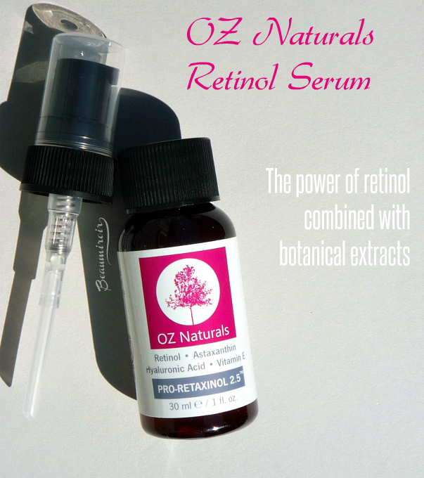 OZ Naturals Retinol Serum: review, photos, swatches