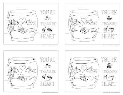 Free Valentine postcards to print and hand out