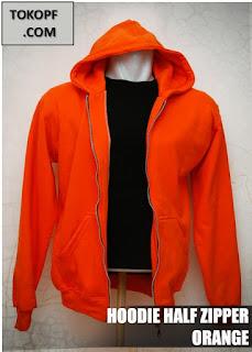 Jaket Polos Warna Orange