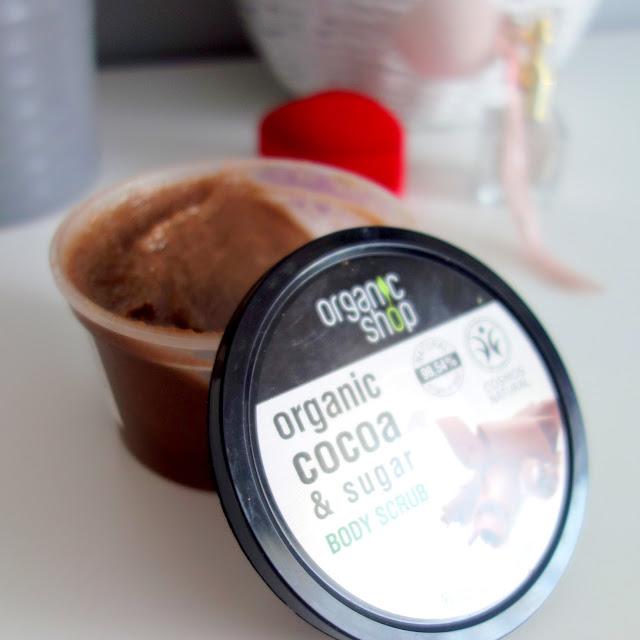 Organic Choco & Sugar Body Scrub /Peeling do ciała `Belgijska czekolada