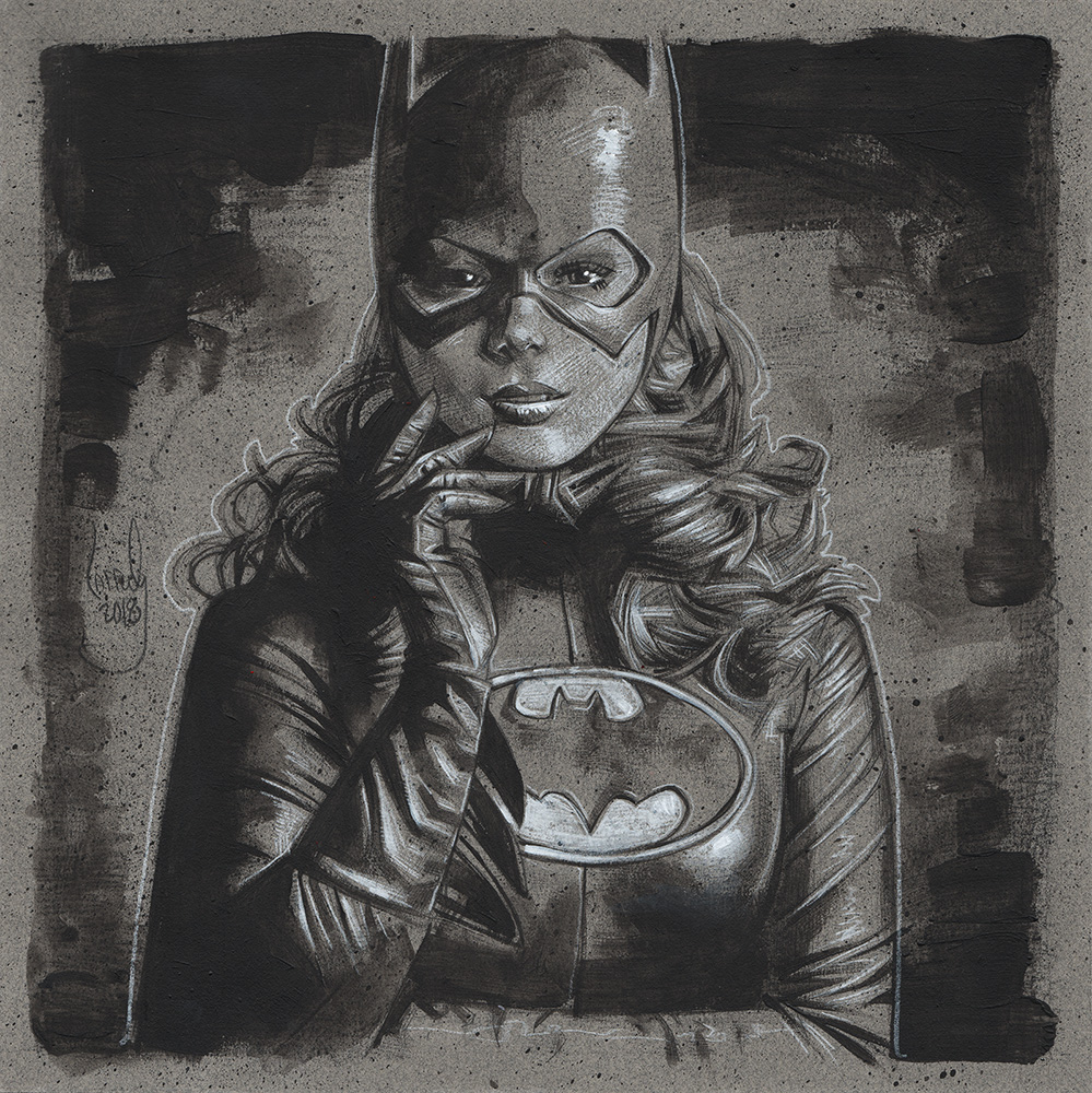 Batgirl, Artwork© Jeff Lafferty