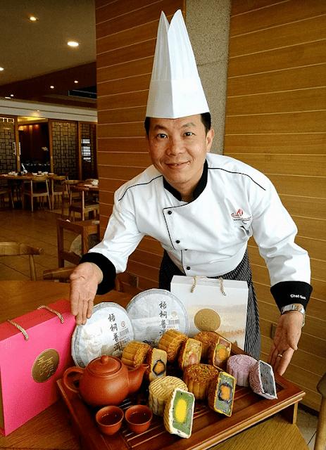 Kuih Bulan, Genting Highlands, Moon Cakes, Chef Gan Chee Keong,