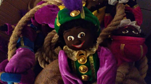 Zwarte Piet mag naar de opslag.