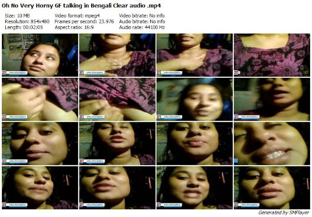 A Bengali Horny Girlfriend shot a video for her BF about How to fuck her.