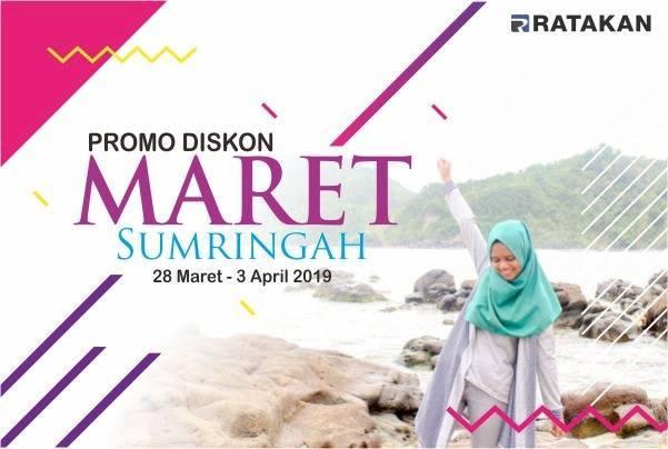 Diskon Ratakan Maret 2019