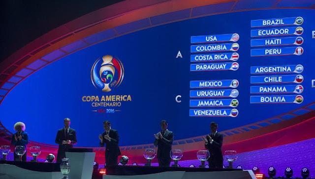 sorteo copa america centenario 2016 - seleccion argentina de futbol