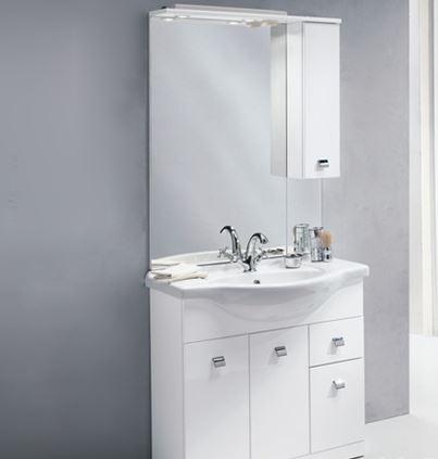 Arredo a modo mio l 39 arredo bagno di mondo convenienza for Arredo bagno bianco
