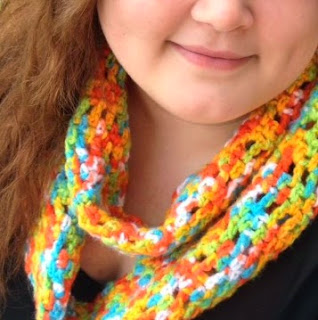 http://www.bizzycrochet.com/upload/Chutes%20and%20Ladders%20Infinity%20Scarf.pdf