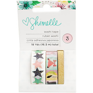 American Crafts - Shimelle Little By Little Washi Tape
