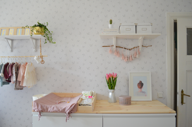make it boho frida s babyzimmer diy wickelauflage. Black Bedroom Furniture Sets. Home Design Ideas