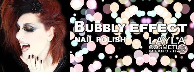 Bubbly Effect Nail Polish Layla