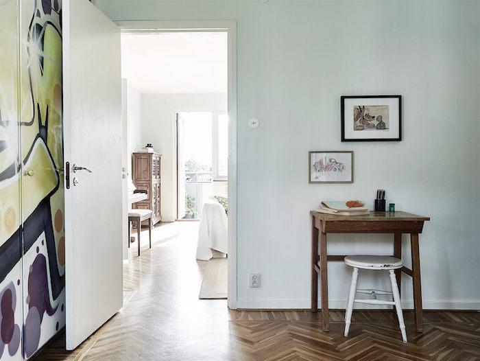 ideas para renovar tu casa-puertas de armario pintadas