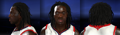 Default 2K Hair & Face