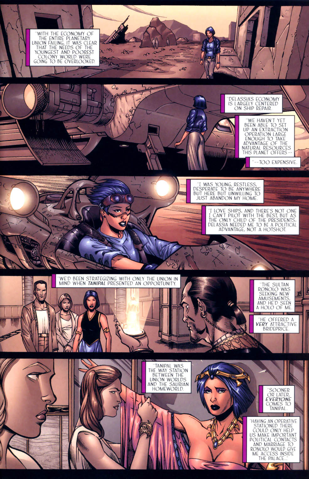 Read online Sigil (2000) comic -  Issue #9 - 3