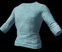Светло-голубая футболка с длинным рукавом (Light Blue Long Sleeved T-shirt)