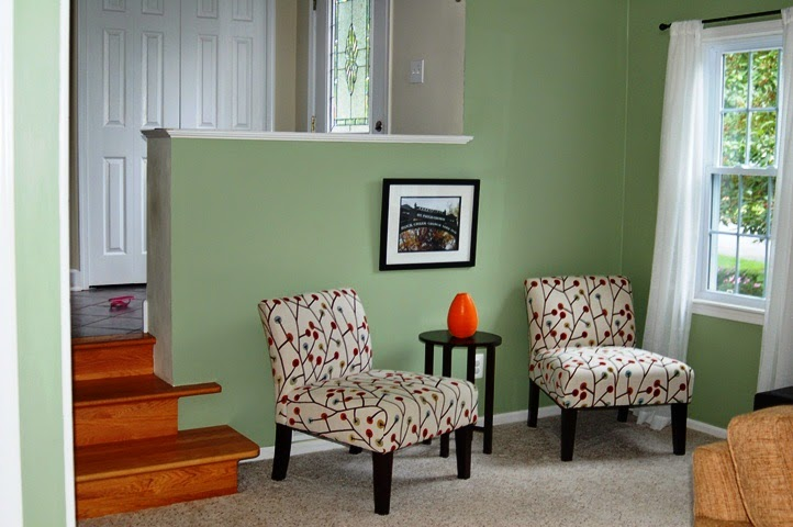 Interior paint color schemes green - What colors go with olive green walls ...