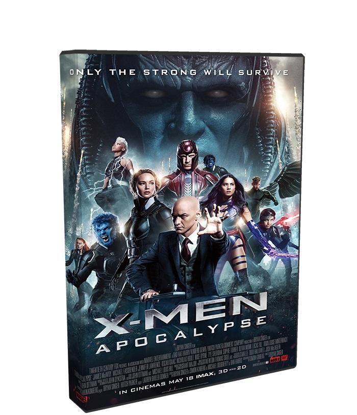 X-Men: Apocalypse poster box cover