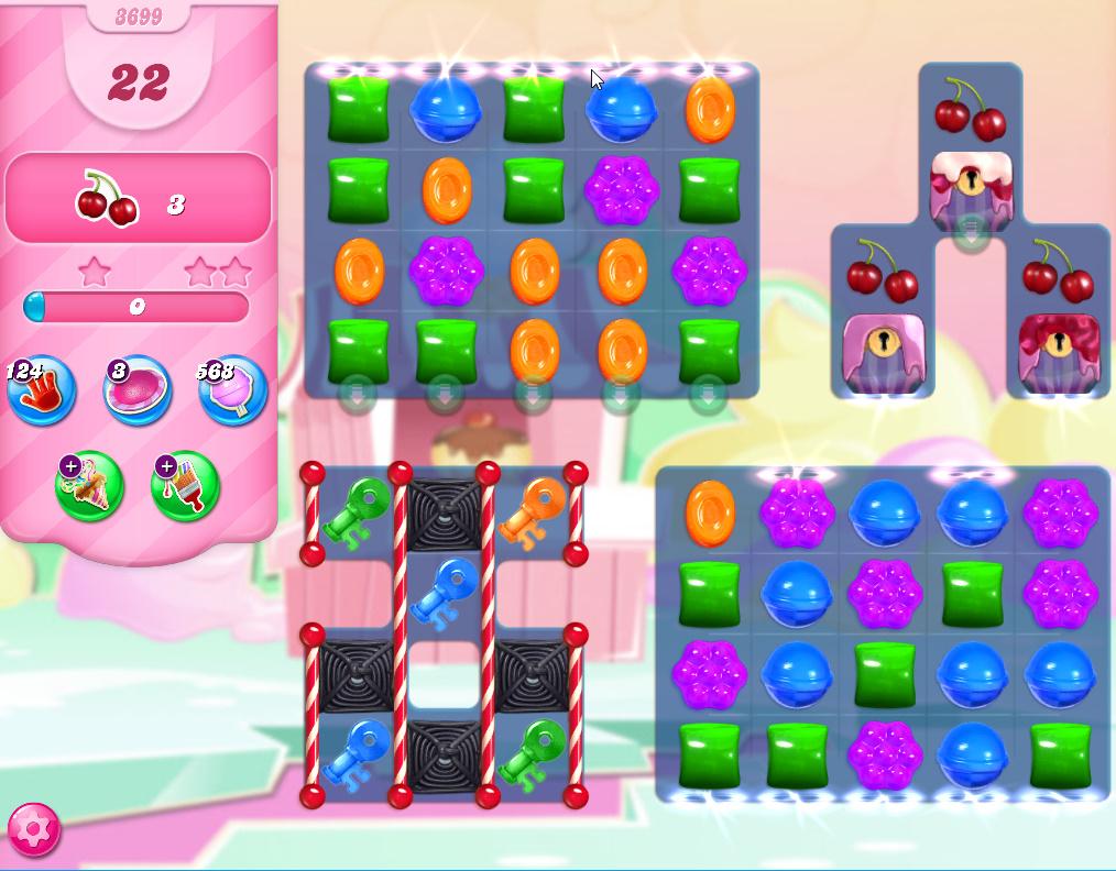 Candy Crush Saga level 3699