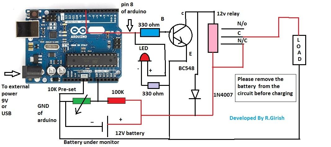 Arduino Uno R3 Atmega328 - assembled ID: 50