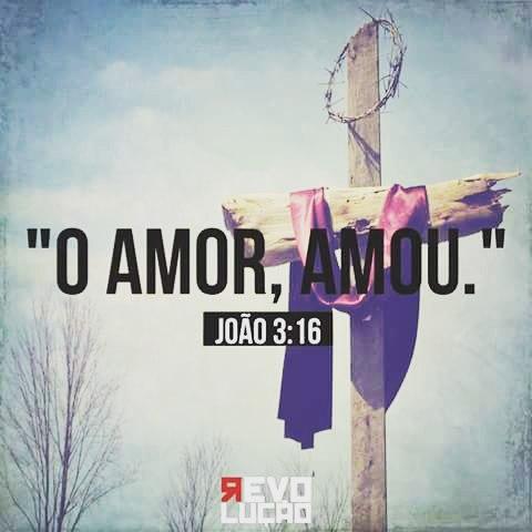 Reflexão Poesia Amor Cristo Jesus Deus é Amor
