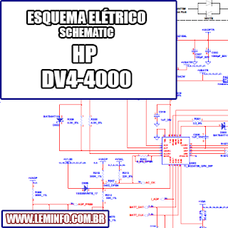 Esquema Elétrico Notebook Laptop HP DV4 4000  Manual de Serviço  Service Manual schematic Diagram Notebook Laptop HP DV4 4000     Esquematico Notebook Laptop HP DV4 4000
