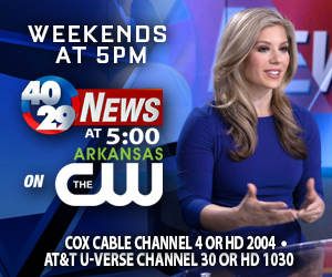 Weekend News at 5pm on The Arkansas CW