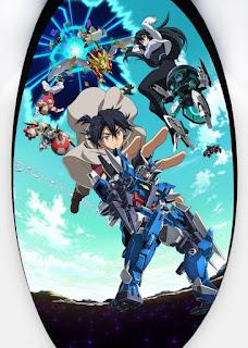 تقرير أونا غواصين بنية جاندام: النهضة Gundam Build Divers Re:Rise