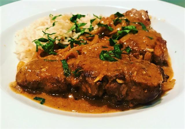 Lamb Steak Tikka Masala