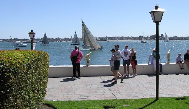 Seaport Village em San Diego na Califórnia