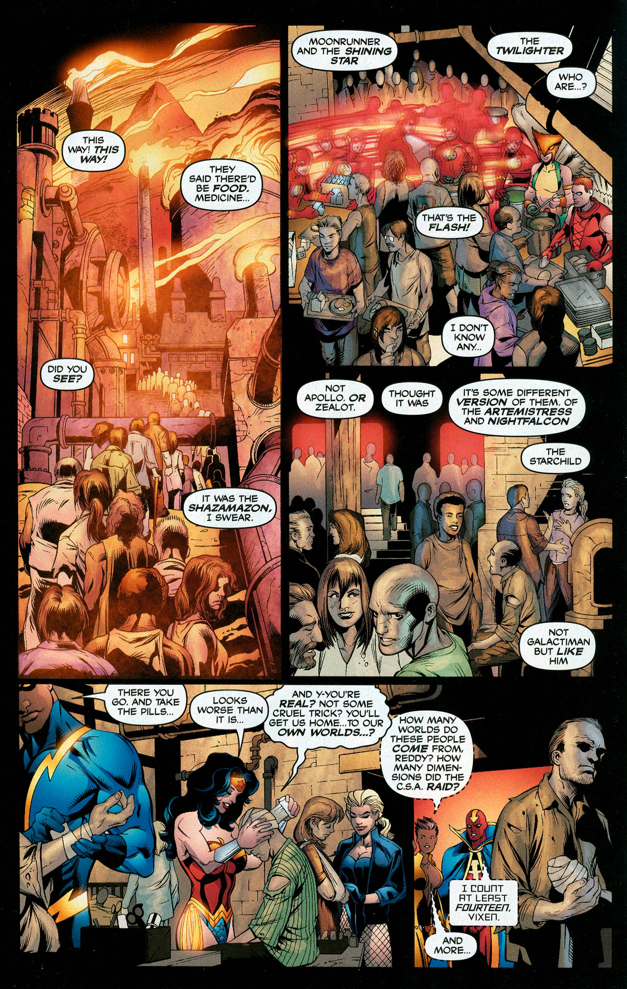 Read online Trinity (2008) comic -  Issue #11 - 10