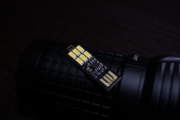 Nagroda nr 3. Pięć lampeczek USB sterowanych ściemnianych i rozjaśnianych dotykiem