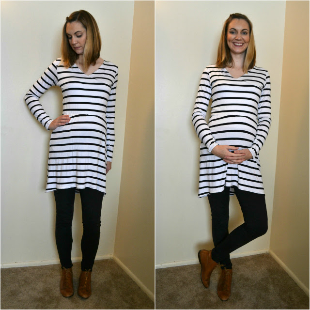 Me Made: Striped Maternity Tunic and Leggings