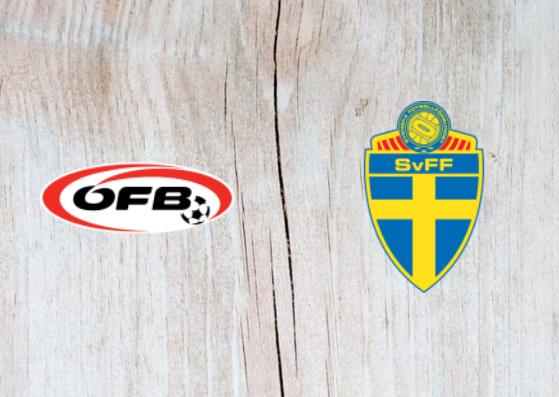 Austria vs Sweden - Highlights 06 September 2018