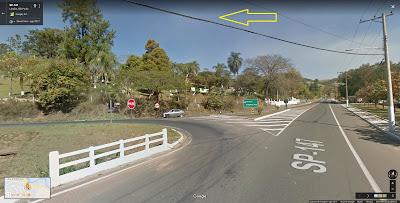 Em seguida, deve-se acessar a estrada final para Socorro à esquerda na saída de Lindóia, pois quem se mantém à direita vai para Serra Negra. O local é sinalizado com placa.