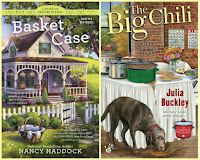 Basket Case by Nancy Haddock; The Big Chili by Julia Buckley