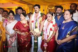 Music Director Amrish Keerthy Wedding Stills  0004