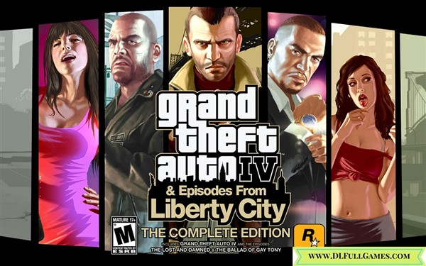 Grand Theft Auto IV Complete Edition MULTi5 PC Game