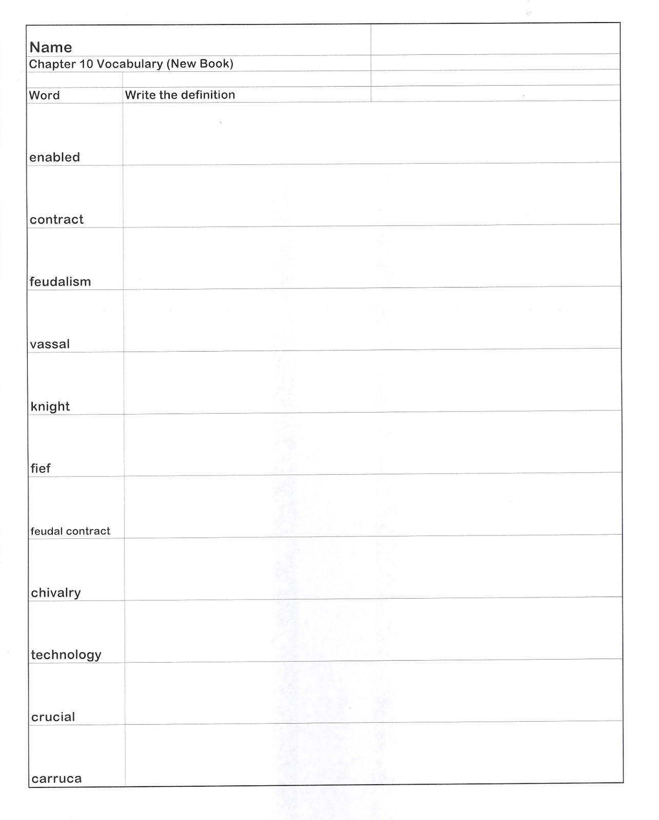Mr E S World History Page