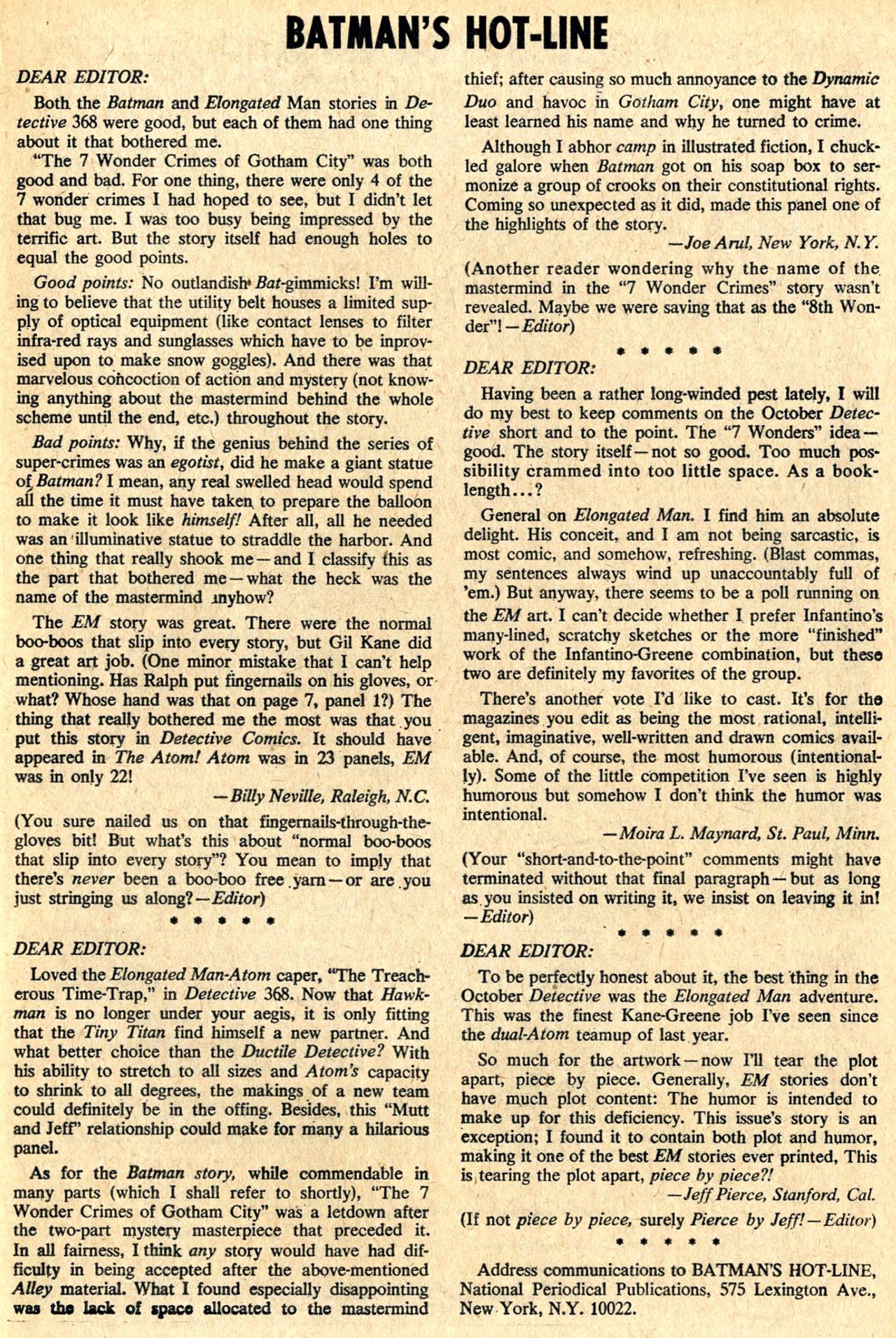 Detective Comics (1937) 373 Page 20