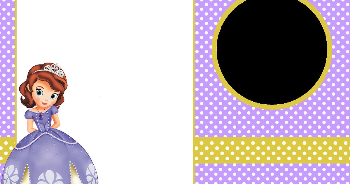 Princesa Sofía: Imprimibles y Tarjetas o Invitaciones Gratis ...