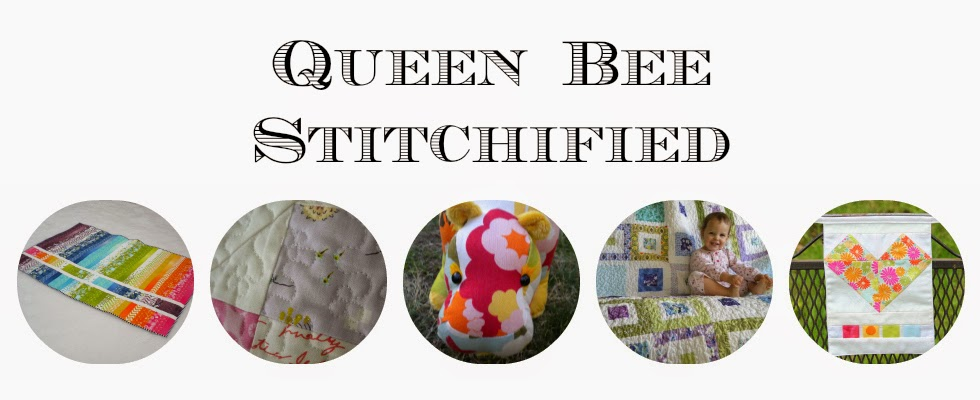 Queen Bee Stitchified