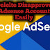 How to Delete Disapproved Adsense Account - WeFeed Now